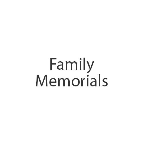 family-memorials