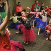 Local kids practice and try out to participate in the Nutcracker.