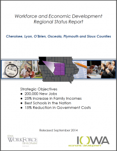 Workforce and Economic Development Regional Status Report