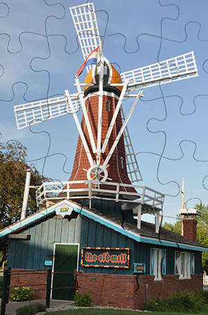Old Mill Puzzle