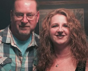 Todd Diehl and his wife Stacy; photo courtesy of the Diehl family